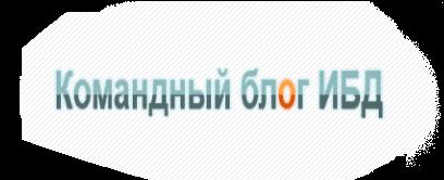 Блог команды ИБД